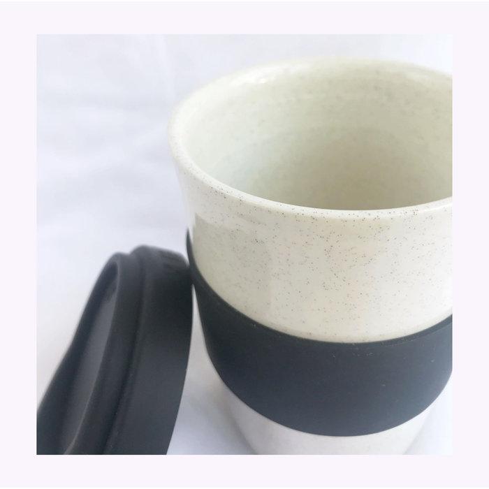 Tasse de transport Pas Mon Style 16oz Speckles Black