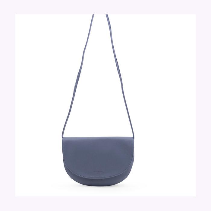 Monk & Anna Monk & Anna Half Moon Light Blue Soma Handbag