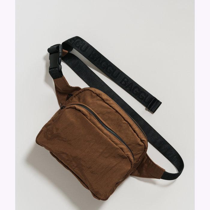 Baggu sac à main Baggu Brown Fanny Pack