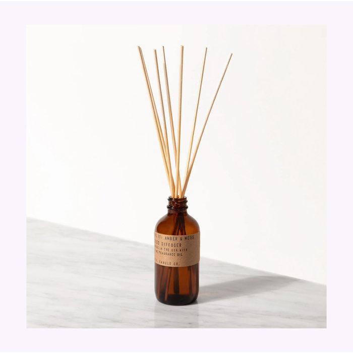 Pf Candles Co. Amber & Moss Diffuser
