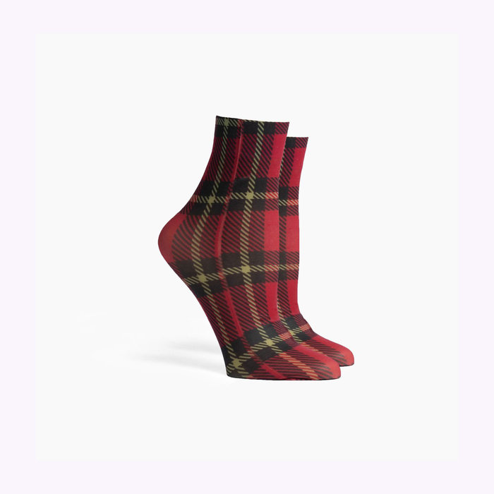 Richer Poorer Richer Poorer Red Velvet  Vivienne Socks