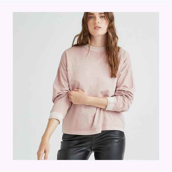 Richer Poorer Soft Mauve Long Sleeves Top