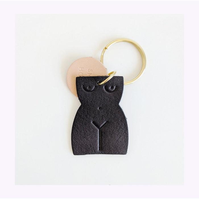 Porte-clés en cuir Small Hours Workshop