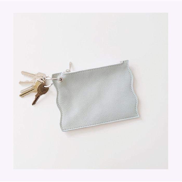 Small Hours Workshop Wavy Leather Pouch