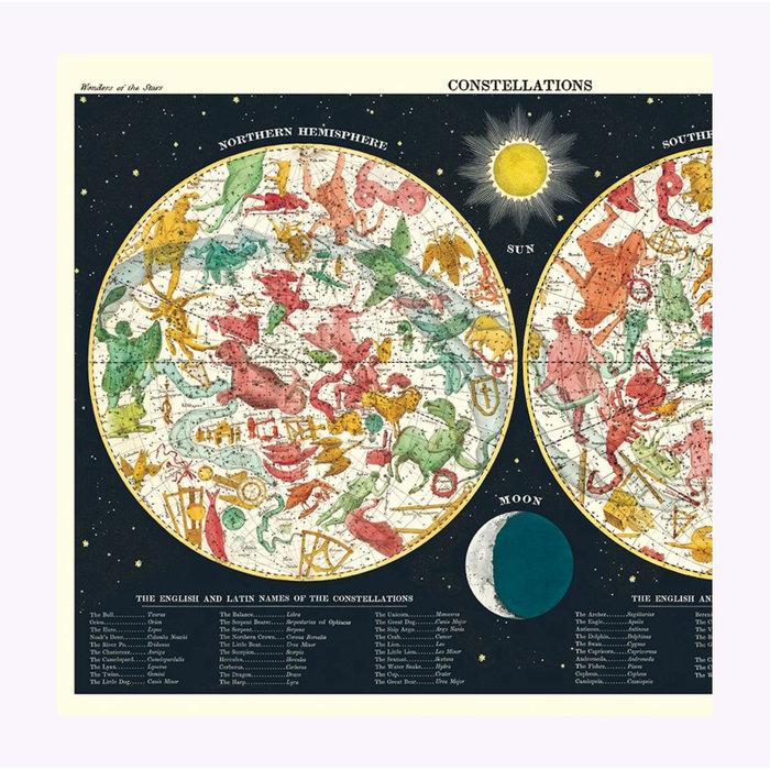 Cavallini Constellations 2 Poster