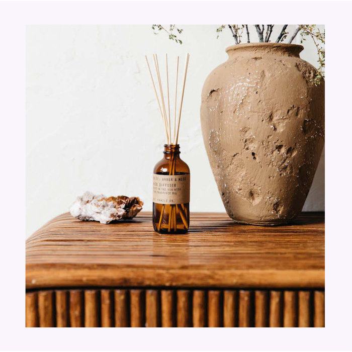 Pf Candle Co. Amber & Moss Diffuser