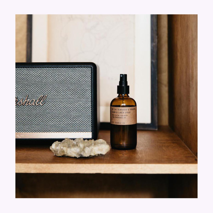 PF Candle co Pf Candle Co. Teakwood & Tobacco Room Spray