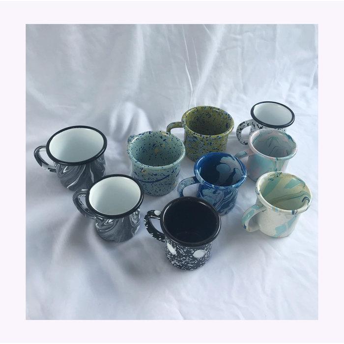 Bornn Small Spotted Enamel Mug