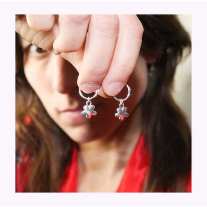Bilak Flower Charm Earrings