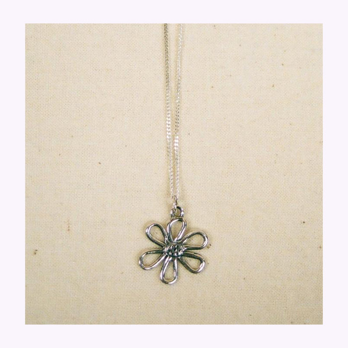 Bilak Bilak Flower Blueprint Necklace