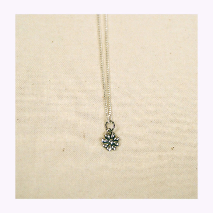 Bilak Bilak Tiny Flower Blueprint Necklace