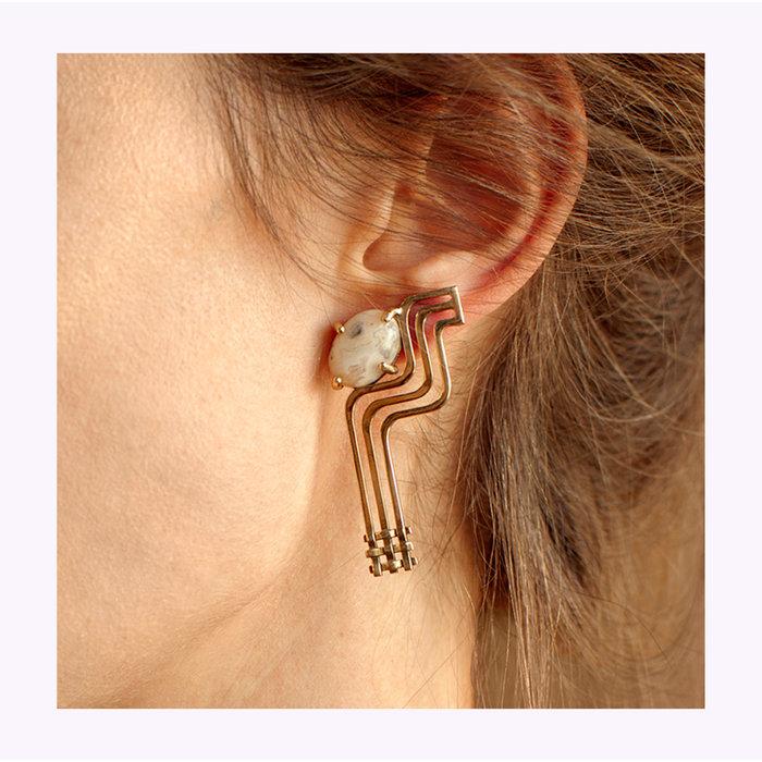 Lindsay Lewis Psyche Earrings