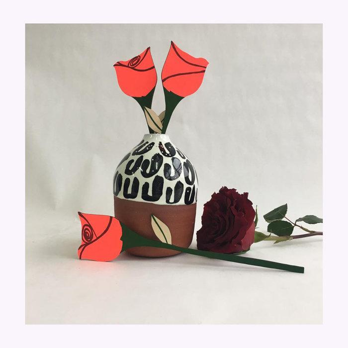 Cosmic Peace Studio Great Lakes Goods Forever Rose Flower