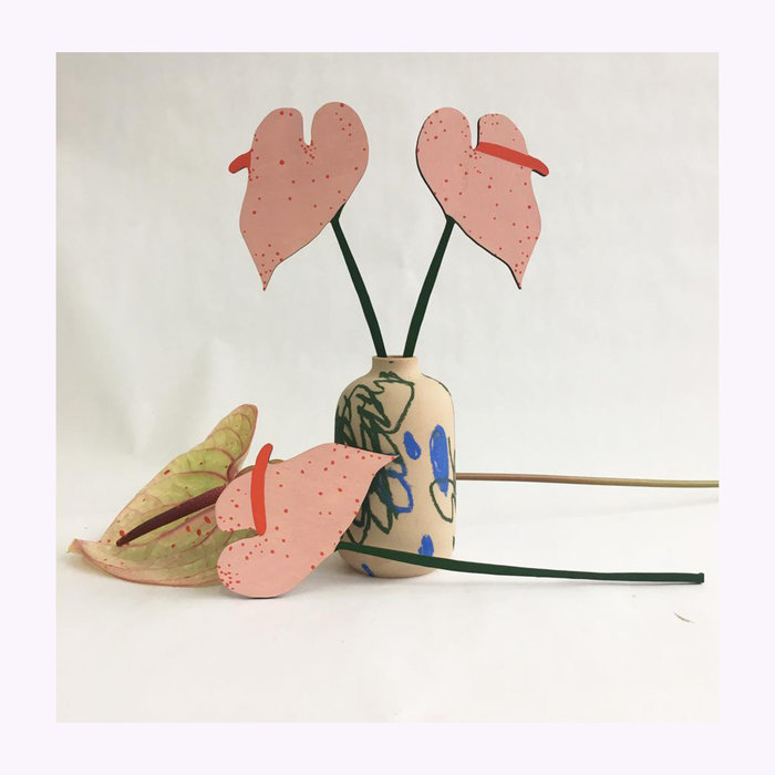 Cosmic Peace Studio Great Lakes Goods Forever Anthurium Flower