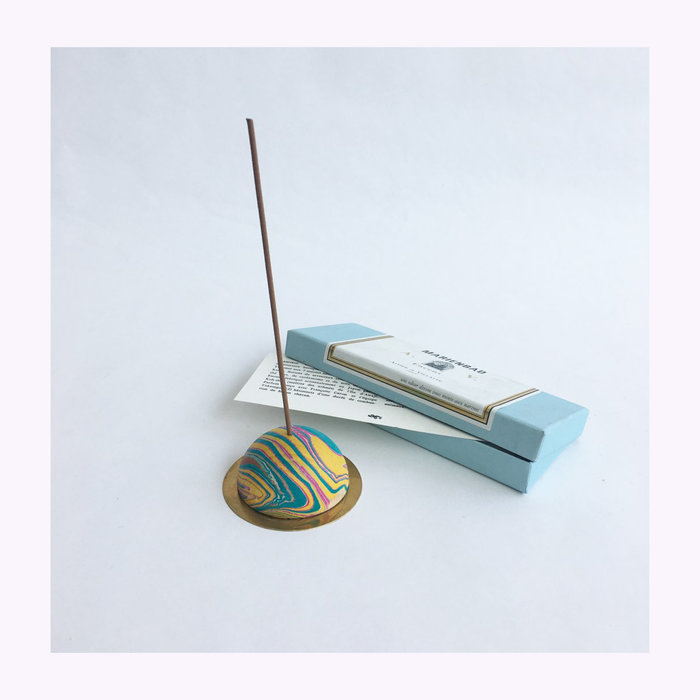 Great Lakes Goods Great Lakes Goods Marbled Incense Holder