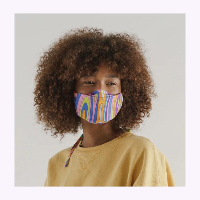 Baggu Masque Baggu Forest Floor Tie-On Face Mask