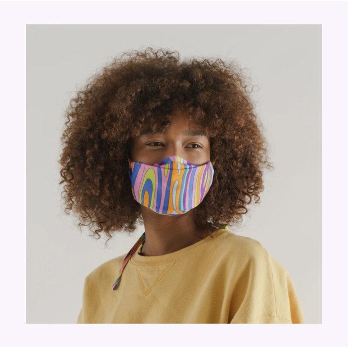 Baggu Forest Floor Tie-On Face Mask
