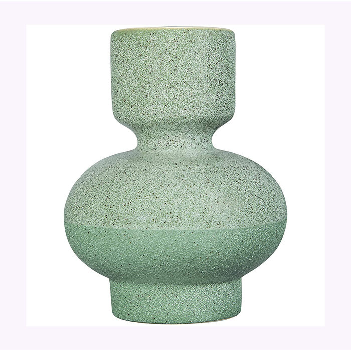Bloomingville Green Candle Holder