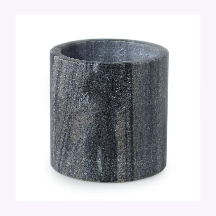 Accent Decor Cache-pot Accent Decor Marbre gris 4 x 4