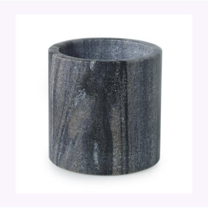 Cache-pot Accent Decor Marbre gris 4 x 4