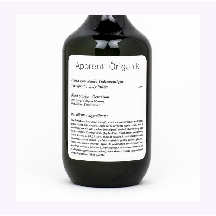 Apprenti Ôr'ganik Geranium Body Lotion