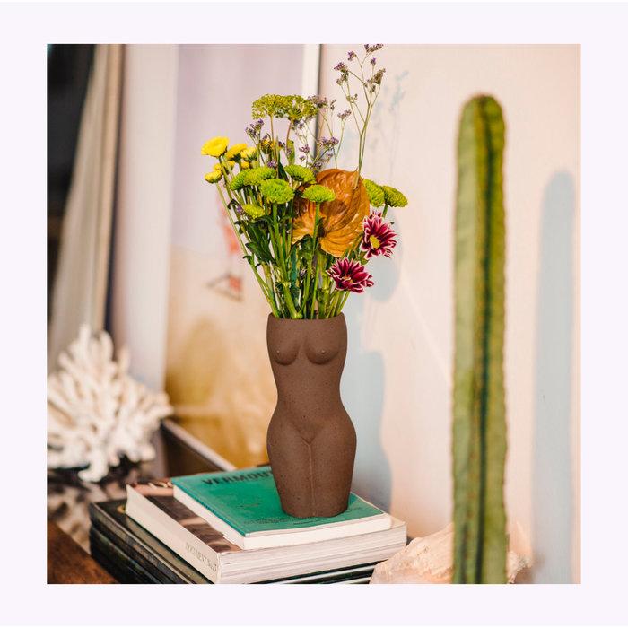 DOIY Tall Body Vase