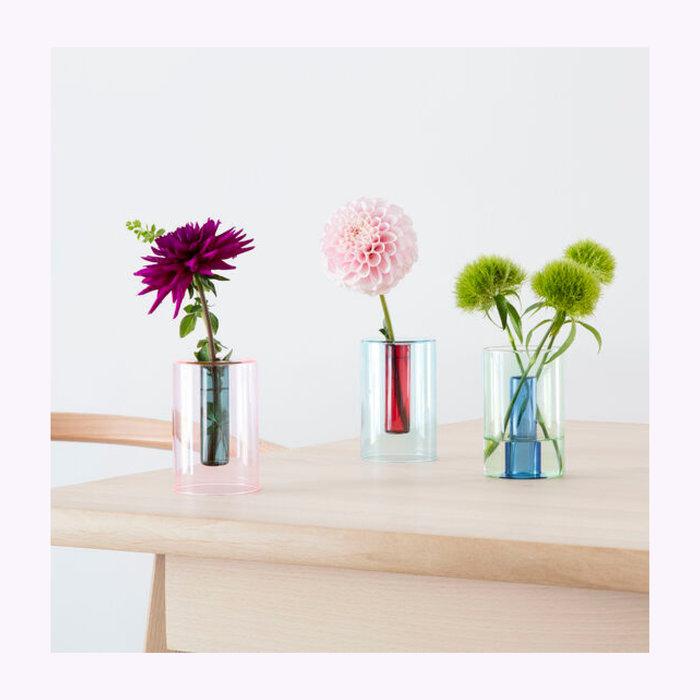 Block Design Block Design Small Reversible Glass Vase