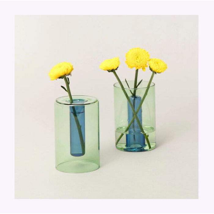 Petit vase réversible Block Design