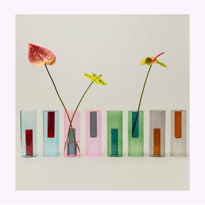 Grand vase réversible Block Design