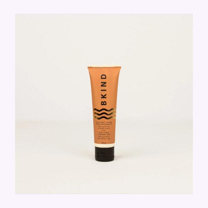 Bkind Exfoliant visage peau rayonnante Bkind - Curcuma