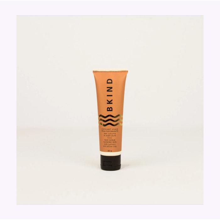 Bkind Glowing Skin Turmeric Face Scrub