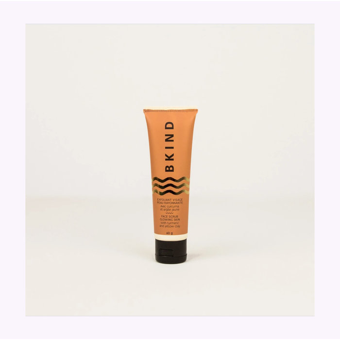 Exfoliant visage peau rayonnante Bkind - Curcuma