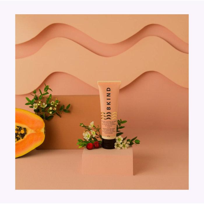 Exfoliant visage peau sensible Bkind - Enzyme de Papaye