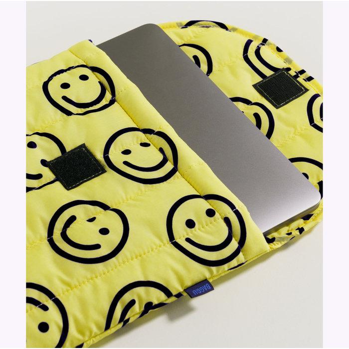 Housse pour ordinateur Baggu Happy Yellow 16po