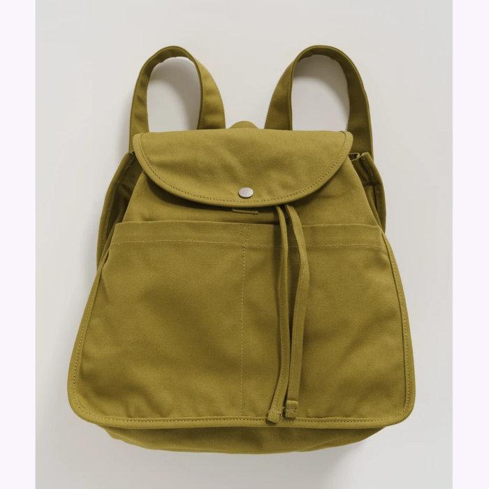 Baggu sac à dos Sac à dos à rabat Baggu Olive