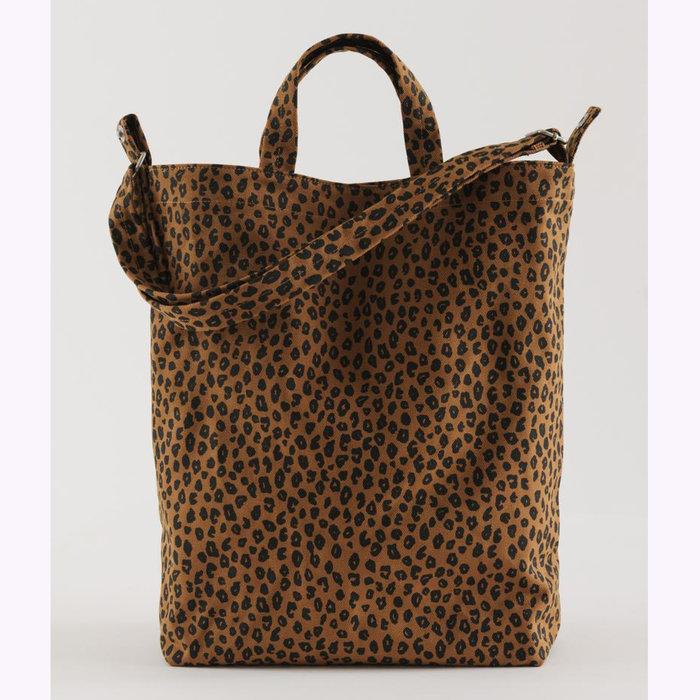 Baggu sac à main Baggu Nutmeg Leopard Duck Bag