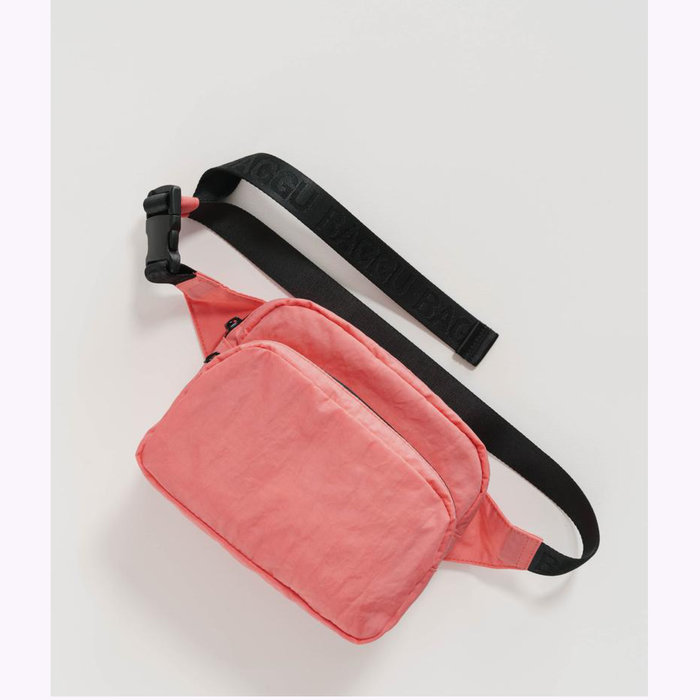 Baggu sac à main Baggu Watermelon Pink Fanny Pack