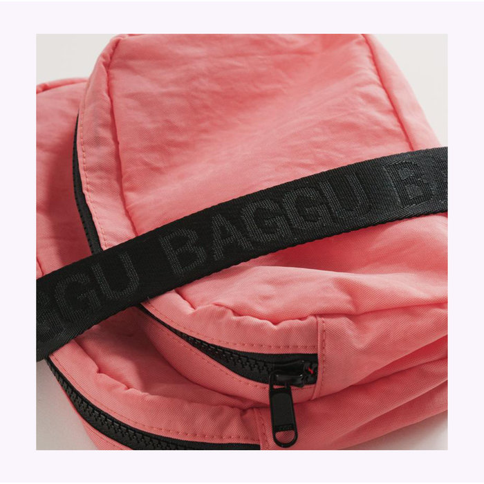 Baggu Watermelon Pink Fanny Pack