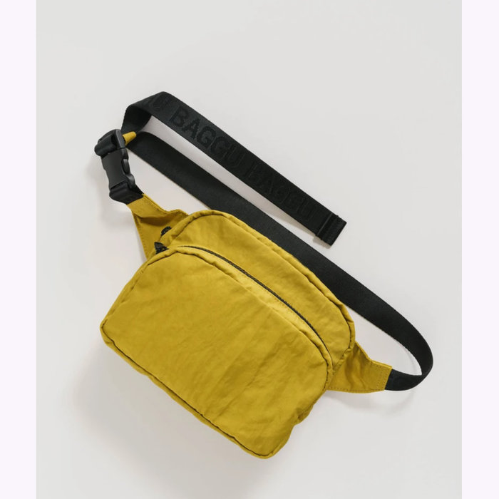 fanny pack of your dreams for autumn zero waste redesigned Mouskouri banana bag Flowery mustard textile recovered over-cyled