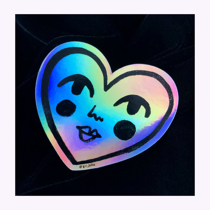 Julia GR Julia GR Holo Sweetheart Sticker