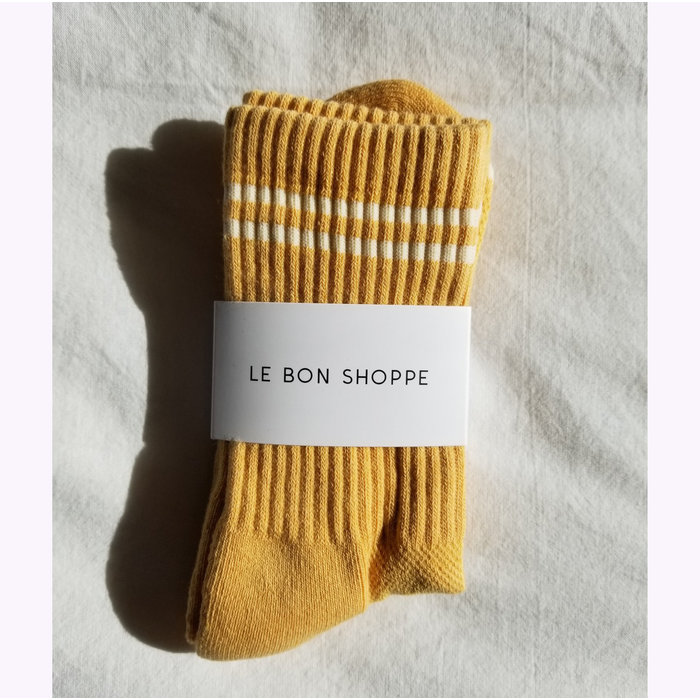 Chaussettes Boyfriend  Le Bon Shoppe Butter