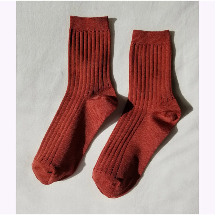 Le Bon Shoppe Terracotta Her Socks