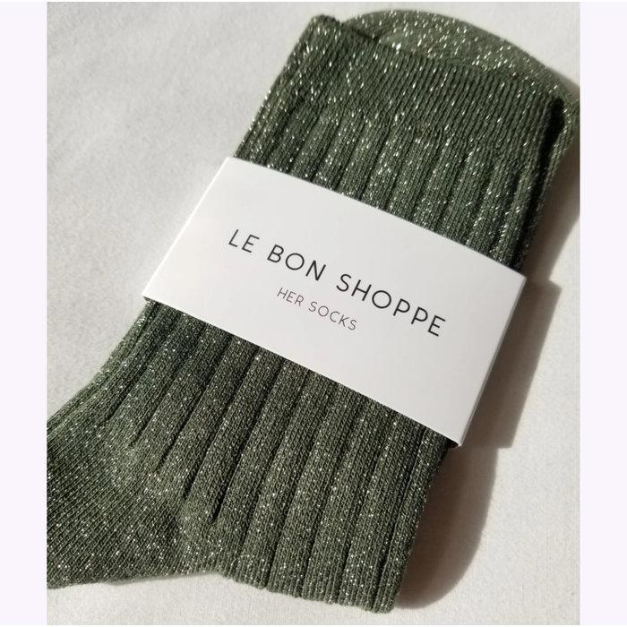 Chaussettes Le Bon Shoppe Lurex Pin