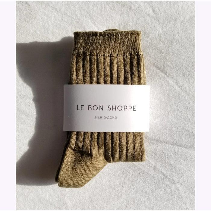 Chaussettes Her Le Bon Shoppe Pesto