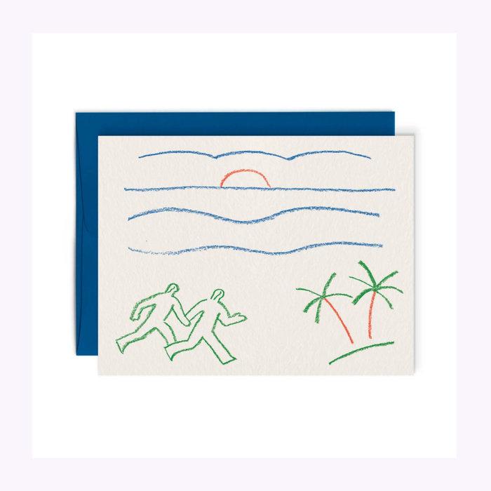 Paperole Paperole Sunrise Card