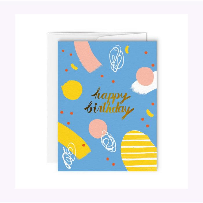 Carte Happy Birthday Paperole
