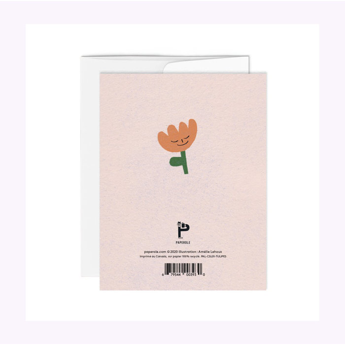 Paperole Tulips Card