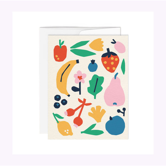 Paperole Fruits Card