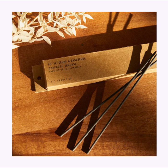 Pf Candle Co. Cedar & Sagebrush Incense