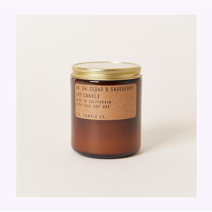 Bougie Pf Candle Co. Cedar & Sagebrush Standard